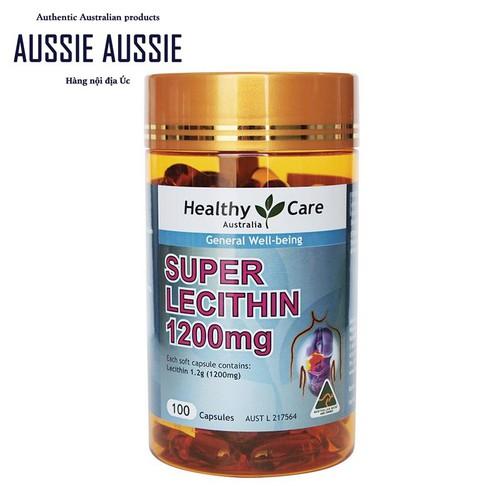 Viên uống mầm đậu nành Úc Healthy Care Super Lecithin 1200mg 100 viên - 6507875 , 13152900 , 15_13152900 , 349000 , Vien-uong-mam-dau-nanh-Uc-Healthy-Care-Super-Lecithin-1200mg-100-vien-15_13152900 , sendo.vn , Viên uống mầm đậu nành Úc Healthy Care Super Lecithin 1200mg 100 viên