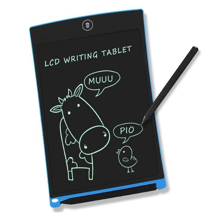 [ ƯU ĐÃI CHO BÉ ]Bảng viết Vẽ Viết Điện Tử Thông Minh LCD cao cấp xóa nhanh tích tắc 8.5 inch size lớn ahamus store [ĐƯỢC KIỂM HÀNG] - SHOPBAN3076VN 5