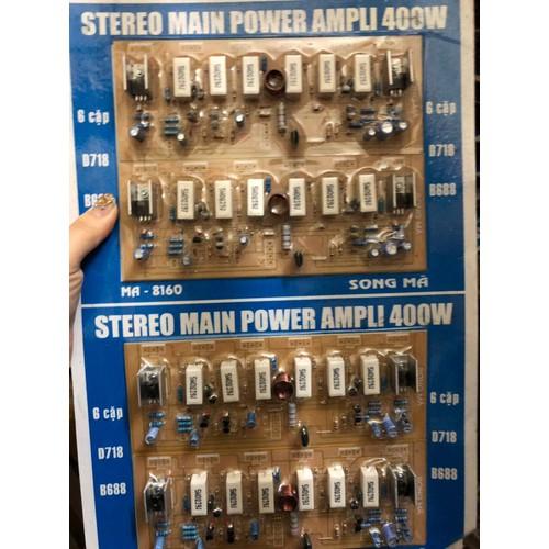 Mạch công suất Ampli 400W