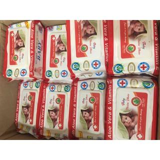 Combo 10 gói khăn ướt không mùi 100 tờ Baby Thiên Phúc - TP100 2