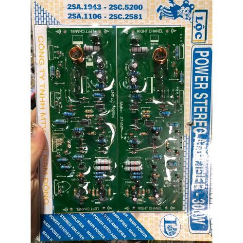 Mạch công suất Ampli 300W Lộc