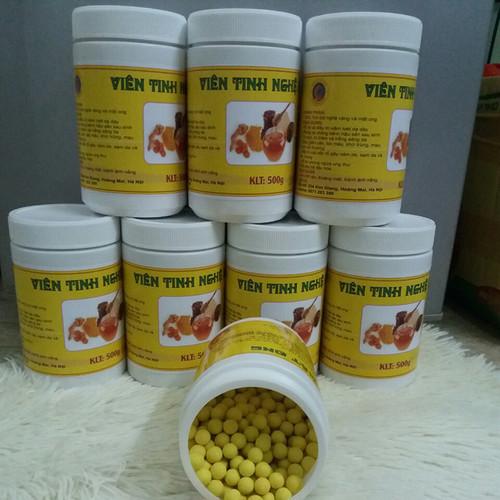 1kg viên tinh bột nghệ mật ong nguyên chất có giấy VSATTP