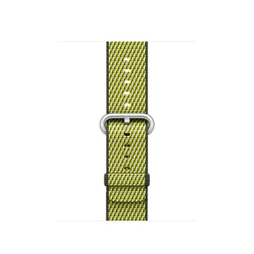 Dây Apple Watch Woven Nylon 2018 - 42mm - Dark Olive Check