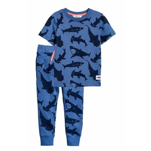 Set bộ đồ bé trai hình cá mập - hàng nhập Tây Ban Nha
