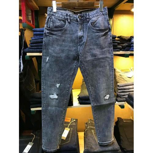 Quần jeans nam ống côn slimfit cao cấp - 6527003 , 13176206 , 15_13176206 , 700000 , Quan-jeans-nam-ong-con-slimfit-cao-cap-15_13176206 , sendo.vn , Quần jeans nam ống côn slimfit cao cấp