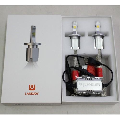 BH 2 năm - Landjoy Cree XHP70 L9 - Chân 9012 - Cặp Bóng đèn Led xe XHP70 L9