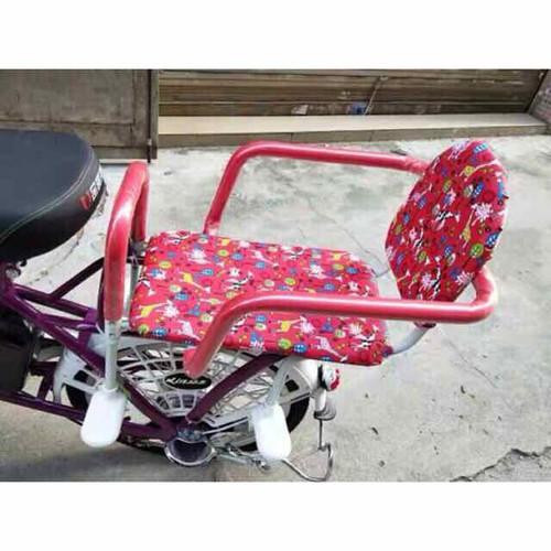 Ghế đôi ngồi sau xe đạp, xe đạp điện