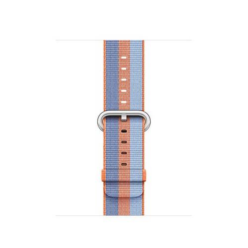 Dây Apple Watch Woven Nylon 2018 - Hàng Phụ Kiện 42mm - Orange Stripe