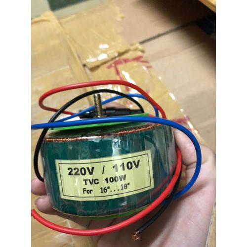Biến áp xuyến 220V-110V 100W