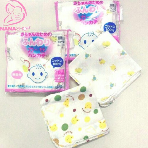 Set 10 khăn xô in hình Xuất Nhật