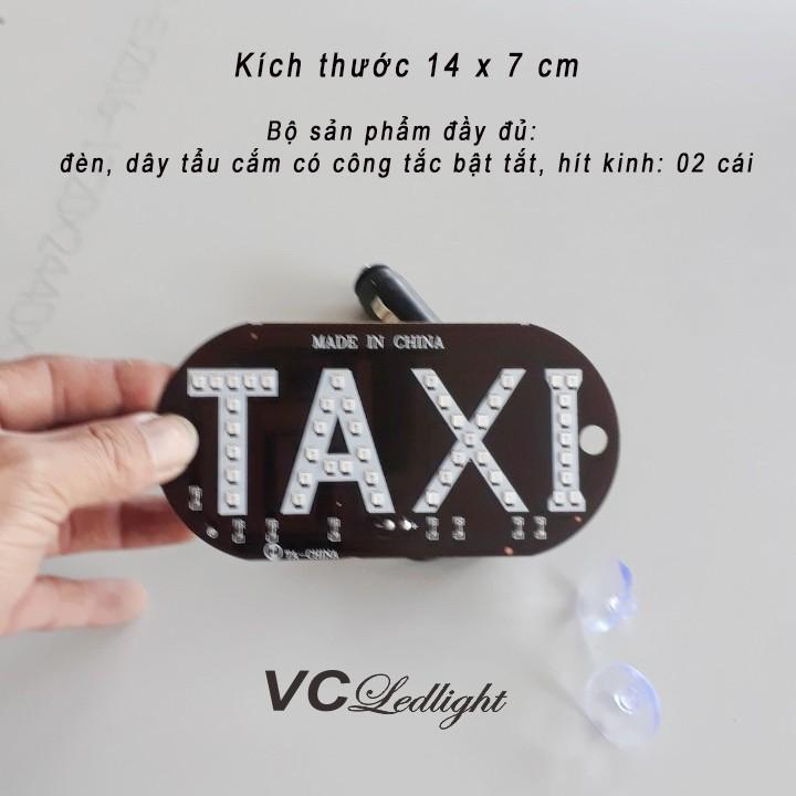 biển led taxi dính kính lái 1