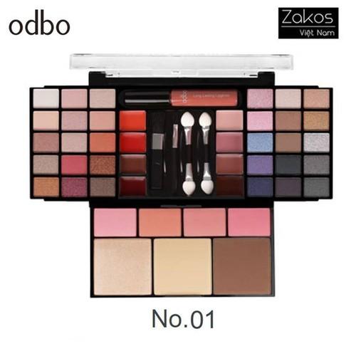 Set trang điểm ODBO Transformer Make Up Pro [OD1016]