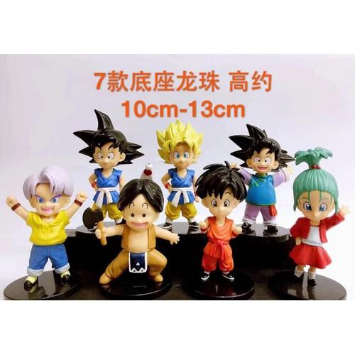Mô hình 7 nhân vật hoạt hình