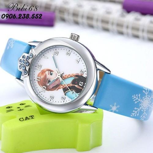 Đồng hồ trẻ em elsa W16-X màu hồng giá tốt