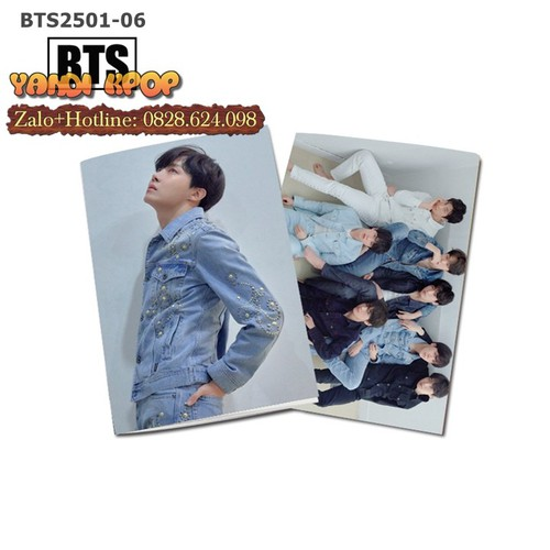 Tập Vở BTS J-Hope - Notebook Học Sinh