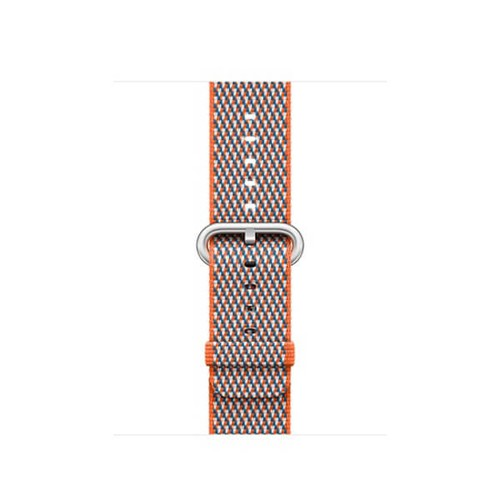 Dây Apple Watch Woven Nylon 2018 - 42mm - Spicy Orange Check