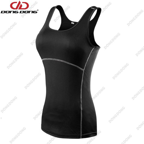 Áo thun thể thao NỮ - D2001, áo tập Yoga, Gym 3 LỖ Size M - DONGDONG