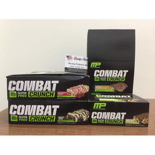 Bánh Protein Musclepharm Combat Crunch 12 Thanh vị White Chocolate Raspberry - 6109481 , 12643343 , 15_12643343 , 700000 , Banh-Protein-Musclepharm-Combat-Crunch-12-Thanh-vi-White-Chocolate-Raspberry-15_12643343 , sendo.vn , Bánh Protein Musclepharm Combat Crunch 12 Thanh vị White Chocolate Raspberry