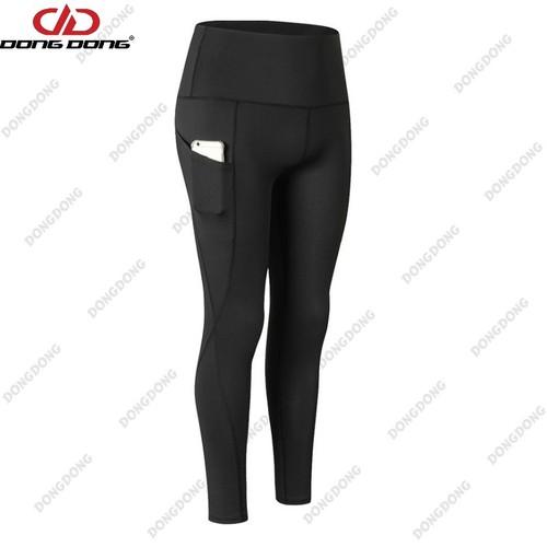 Quần thể thao NỮ - D2060, quần tập Gym Yoga Size L - DONGDONG