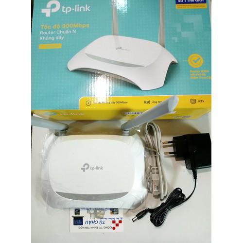 Bộ phát Router Wifi TP-Link: LT-WR840N, chuẩn N tốc độ 300Mbps-2.4Ghz