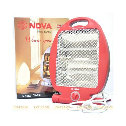 Quạt sưởi Nova 2 bóng 800W cao cấp