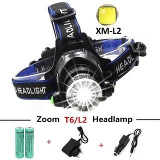 Đèn pin đội đầu 1 bóng LED 2000 Lumens XML-T6 - DONGDONG - p63led1 thumbnail