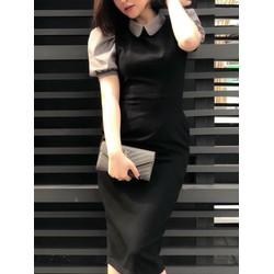 Đầm Body Tay Phồng Cá Tính Thời Trang - JZ0819