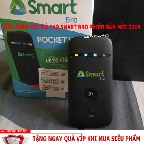 Bộ Phát Wifi Di Động Cầm Tay Smart Bro - Bộ Phát Tốt