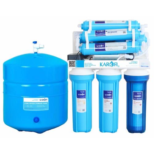 Máy lọc nước Karofi 8 lõi lọc không vỏ tủ