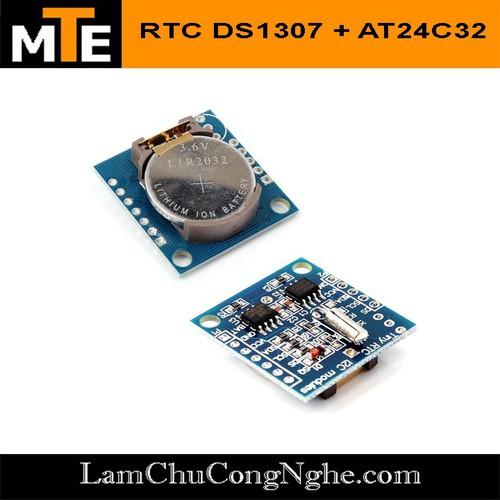 Module Thời Gian Thực RTC DS1307 + AT24C32 - 6547718 , 13201437 , 15_13201437 , 24000 , Module-Thoi-Gian-Thuc-RTC-DS1307-AT24C32-15_13201437 , sendo.vn , Module Thời Gian Thực RTC DS1307 + AT24C32