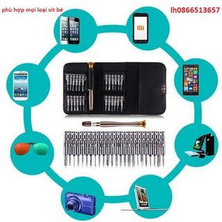 Bộ tô vít sửa chữa điện thoại - 25 trong 1 - 20c thumbnail