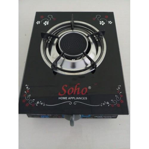 Bếp gas đơn mặt kính hồng ngoại Soho 4HG - 6549398 , 13203603 , 15_13203603 , 199000 , Bep-gas-don-mat-kinh-hong-ngoai-Soho-4HG-15_13203603 , sendo.vn , Bếp gas đơn mặt kính hồng ngoại Soho 4HG