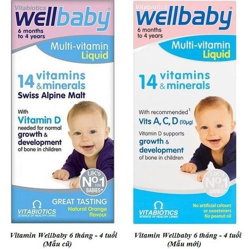 Vitamin Tổng Hợp Wellbaby Tăng Đề Kháng Cho Bé