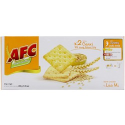 Bánh quy mặn vị lúa mì AFC 200g 8 gói*25g