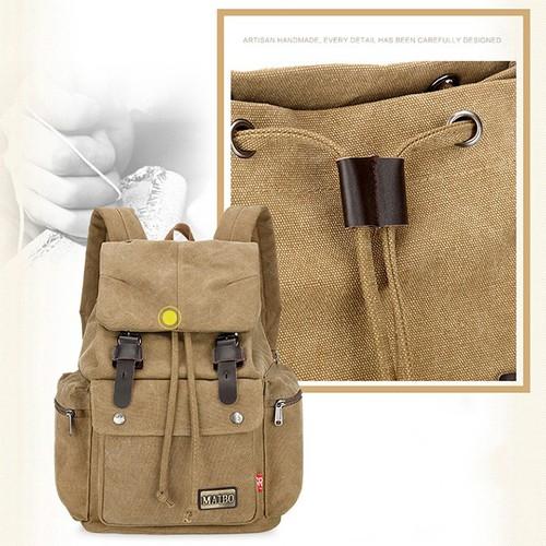 Túi | Balo vải bố Maibo 20 - 35L