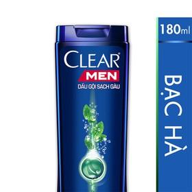 Dầu gội - DG clear bac ha 180ml