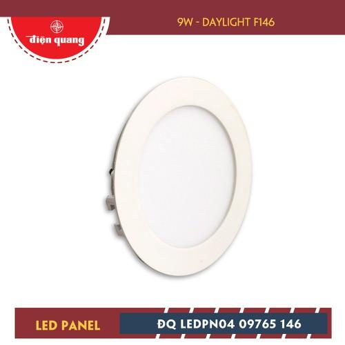 Bộ Đèn LED Panel Tròn Điện Quang ĐQ LEDPN04 09765 146 - 9W Daylight F146