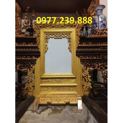 khung ảnh thờ bằng gỗ mít