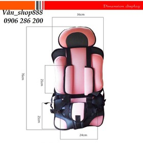 Ghế ngồi xe hơi-ghế cho bé-ghế ngồi ô tô cho bé-ghế phụ - ghế ngồi ô tô cho bé RE0292