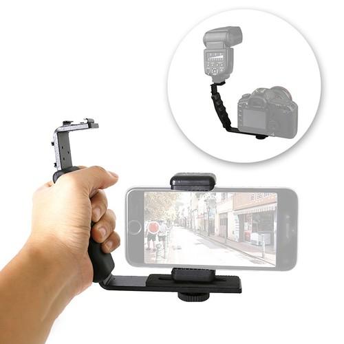 Tay cầm L-Shape quay video cho máy ảnh và điện thoại - 6551613 , 13206499 , 15_13206499 , 160000 , Tay-cam-L-Shape-quay-video-cho-may-anh-va-dien-thoai-15_13206499 , sendo.vn , Tay cầm L-Shape quay video cho máy ảnh và điện thoại