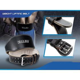 Đai lưng cứng VALEO hỗ trợ tập tạ ,Tập gym ,Tập thể hình Đai lung da bò thật - dailungdabo