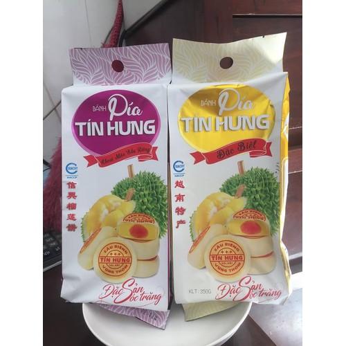Bánh pía đậu xanh sầu riêng Tín Hưng