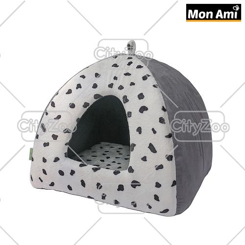 Nhà Nệm Cho Chó Mèo Hình Tam Giác Mon Ami Size  40x40cm