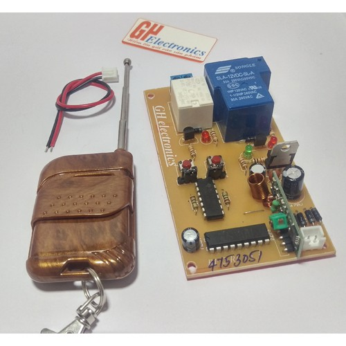 Combo mạch điều khiển từ xa 2 kênh 100m