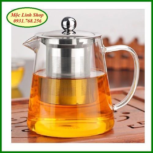 Ấm pha trà thủy tinh nắp inox có lõi lọc 550ml - 6118639 , 12658920 , 15_12658920 , 300000 , Am-pha-tra-thuy-tinh-nap-inox-co-loi-loc-550ml-15_12658920 , sendo.vn , Ấm pha trà thủy tinh nắp inox có lõi lọc 550ml
