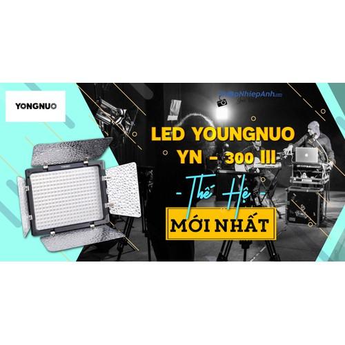 ĐÈN LED YONGNUO YN-300 III THẾ HỆ MỚI NHẤT