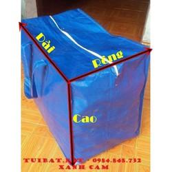 Túi bạt đựng đồ: combo 3 túi bạt dứa to, dày, đẹp, hàng chất lượng
