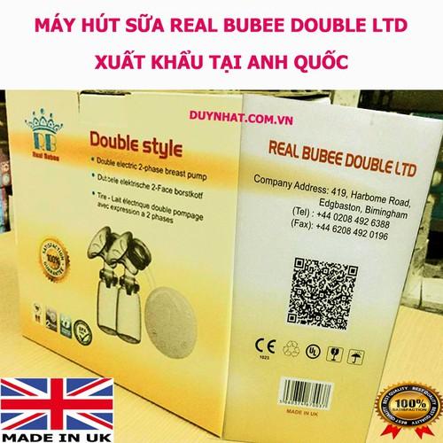 Máy hút sữa điện đôi Real Bubee Anh Quốc - Máy Hút Sữa Cao Cấp