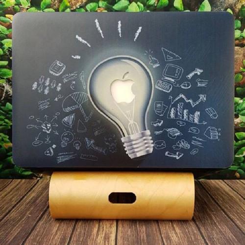 Ốp Macbook 13 Air Model Cũ - Hình Bóng Đèn