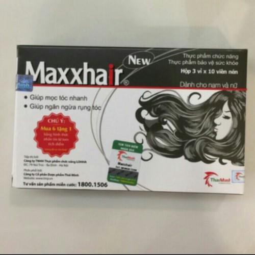 MAXHAIR giúp tóc mọc nhanh
